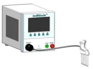 SwiftBlade Array device with SwiftBlade-R attached